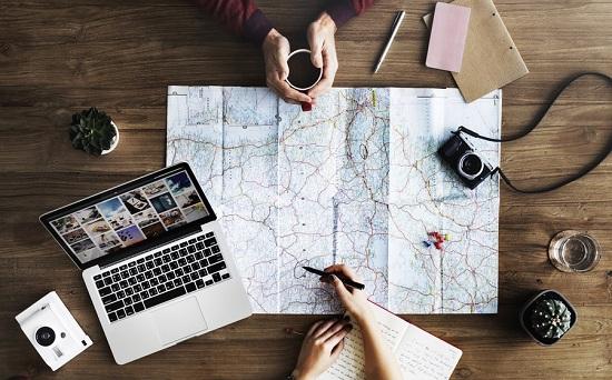 Xác định nơi bạn muốn đi du lịch