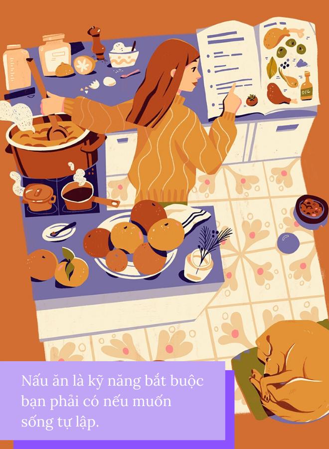 tự nấu ăn