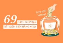 69 cách tiết kiệm tiền