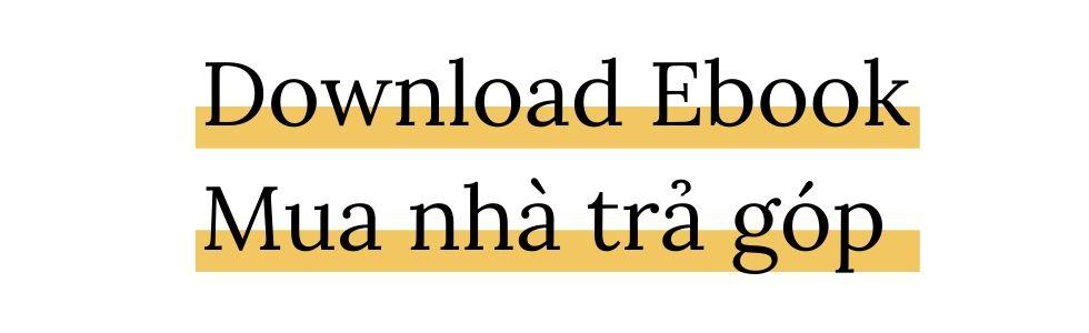 Download Ebook Mua nhà trả góp