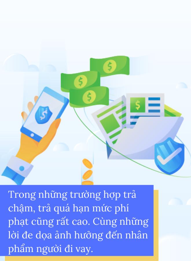 Hậu quả nghiêm trọng khi vay tiền online tại tổ chức không uy tín