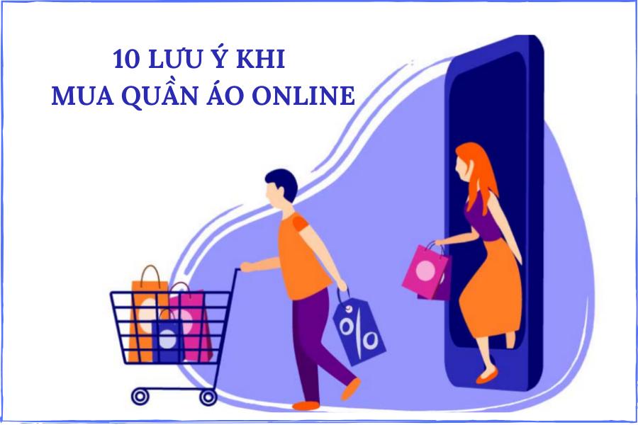 10 lưu ý khi mua quần áo online