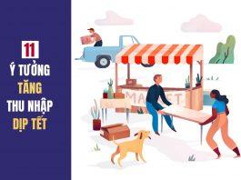 11 ý tưởng tăng thu nhập dịp tết